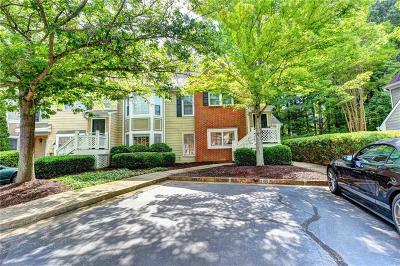 Alpharetta Condo/Townhouse For Sale: 3015 Camden Way