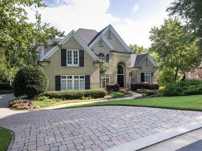 Sandy Springs Single Family Home For Sale: 1655 Misty Oaks Drive