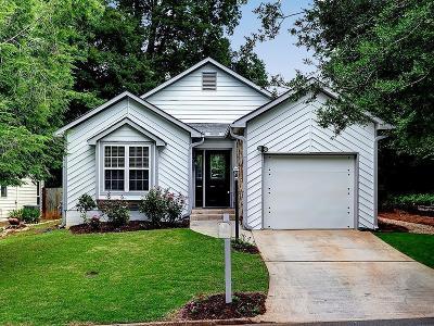 Brookhaven Single Family Home For Sale: 1133 Capital Club Circle NE