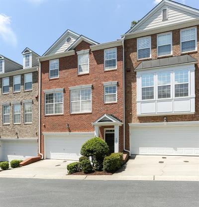 Smyrna Condo/Townhouse For Sale: 4684 Creekside Villas Way SE