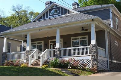 Kirkwood Single Family Home For Sale: 2132 Memorial Drive SE