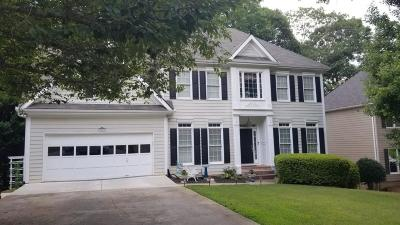 Suwanee Single Family Home For Sale: 2582 Collins Port Cove