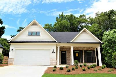 Gainesville Single Family Home For Sale: 1342 Burnam Wood Drive