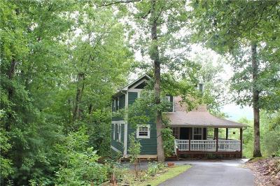 Hiawassee Single Family Home For Sale: 2103 Pooh Corner