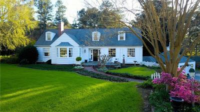 Newnan Single Family Home For Sale: 340 Roscoe Road
