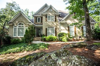 Marietta Single Family Home For Sale: 4676 Bishop Lake Road