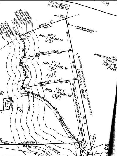 Canton Residential Lots & Land For Sale: 417 Roland Drive