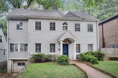 Atlanta Single Family Home For Sale: 864 Amsterdam Avenue
