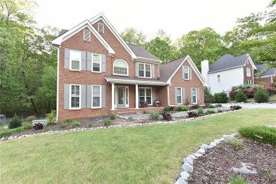 Buford Single Family Home For Sale: 1860 Oak Wind Lane