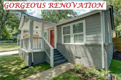 Single Family Home For Sale: 1281 McClure Avenue NW