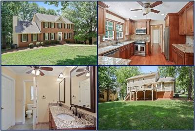 Marietta Single Family Home For Sale: 2842 Windsor Oaks Trace