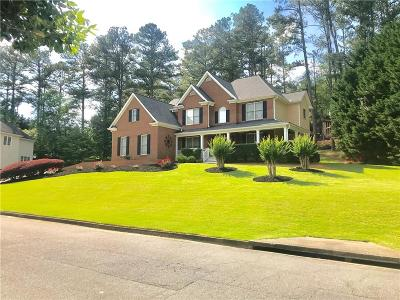 Kennesaw Single Family Home For Sale: 1563 Amberwood Creek Drive NW