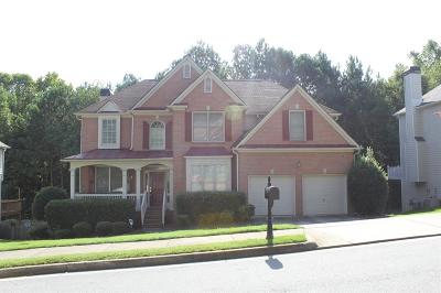 Duluth Single Family Home For Sale: 3905 Canterbury Walk Drive