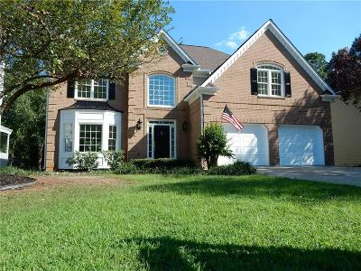 Acworth Single Family Home For Sale: 4114 Mulligan Lane NW