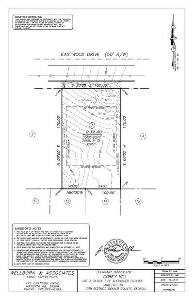 Decatur Residential Lots & Land For Sale: 2853 Eastwood Drive