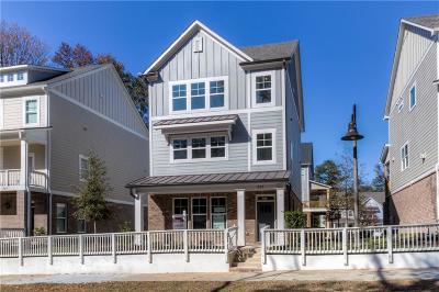 Woodstock Single Family Home For Sale: 305 Southpark Lane #3