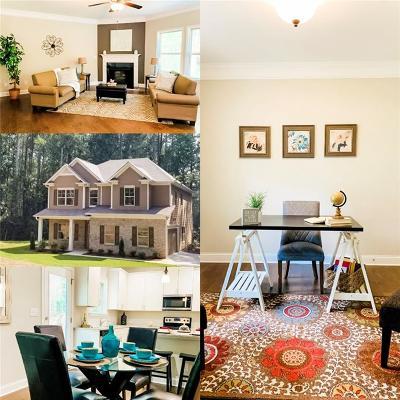 Cherokee County Single Family Home For Sale: 5121 Eubanks Road