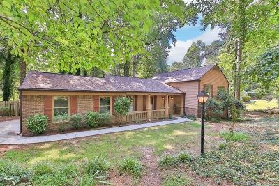 Marietta Single Family Home For Sale: 3930 Pheasant Circle SE #2