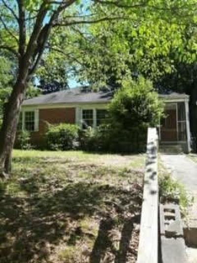 Single Family Home For Sale: 1854 Tiger Flowers Drive NW