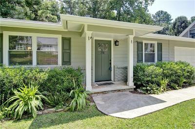 Marietta Single Family Home For Sale: 711 Stewart Circle NW