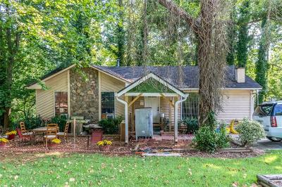 Norcross Single Family Home For Sale: 1477 Country Downs Drive