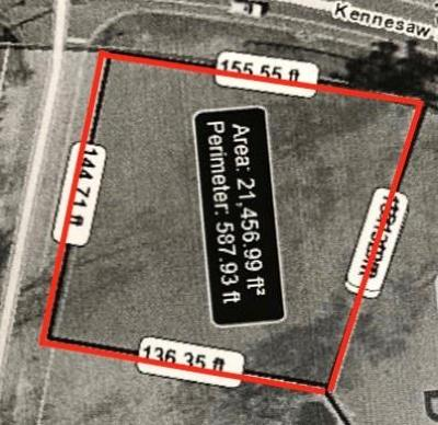 Kennesaw Residential Lots & Land For Sale: 1760 Kennesaw Due West Road NW