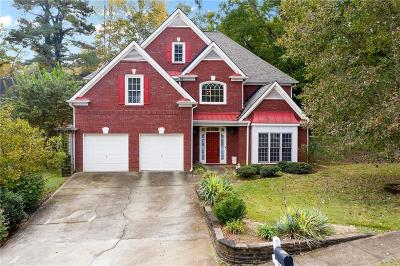 Acworth Single Family Home For Sale: 4361 Oak Manor Drive NW