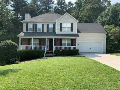 Dacula Single Family Home For Sale: 1800 Alcovy River Drive