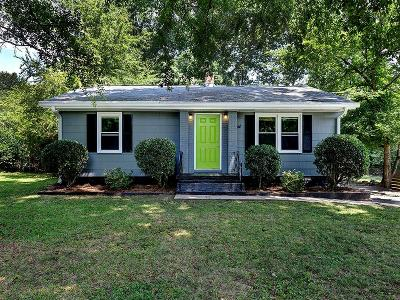 Single Family Home For Sale: 1019 Oakdale Drive SE