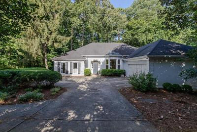 Single Family Home For Sale: 3376 W Paces Ferry Court NW
