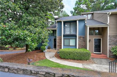 Sandy Springs Condo/Townhouse For Sale: 60 Goldrush Circle
