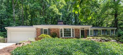 Atlanta Single Family Home For Sale: 2781 Mornington Drive NW