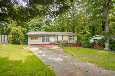 Smyrna Single Family Home For Sale: 1783 Donna Lynn Drive SE
