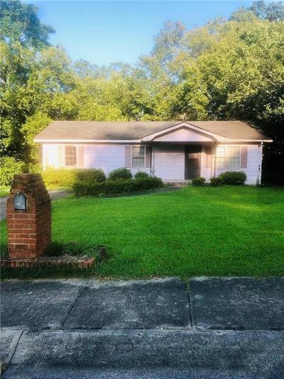 Single Family Home For Sale: 272 Fowler Circle NE