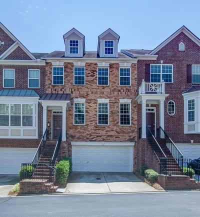 Smyrna Condo/Townhouse For Sale: 3910 Old Atlanta Station Drive #10