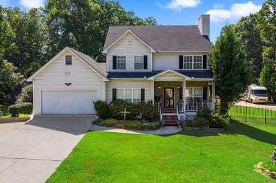 Cartersville Single Family Home For Sale: 138 Vaughn Spur NE