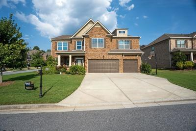 Suwanee Single Family Home For Sale: 7605 Summers View Circle