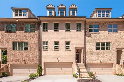Smyrna Condo/Townhouse For Sale: 299 Benson Manor Circle SE