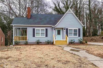 Single Family Home For Sale: 627 S Elizabeth Place NW