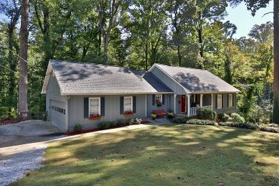 Lilburn Single Family Home For Sale: 570 Village Green Court SW