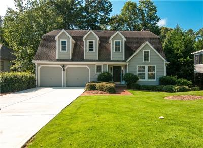 Alpharetta Single Family Home For Sale: 1595 Spinnaker Drive