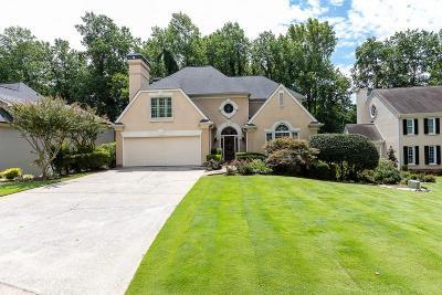 Marietta Single Family Home For Sale: 4510 Woodhaven NE