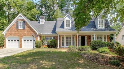 Marietta Single Family Home For Sale: 1057 Princeton Walk NE