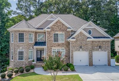 Suwanee Single Family Home For Sale: 465 Deerwood Drive