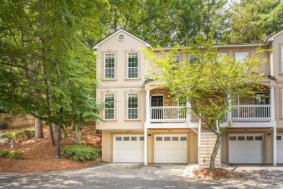 Sandy Springs Condo/Townhouse For Sale: 101 Masons Creek Circle
