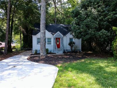 Decatur Single Family Home For Sale: 2797 McAfee Road
