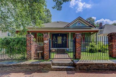 Atlanta Single Family Home For Sale: 662 Peeples Street SW