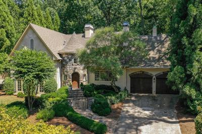 Brookhaven Single Family Home For Sale: 4506 Candler Lake NE