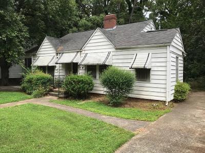 Single Family Home For Sale: 160 Rosser Street SW