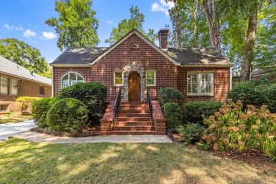 Atlanta Single Family Home For Sale: 451 Burlington Road NE